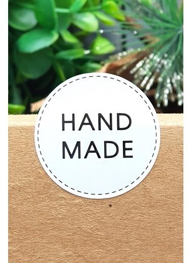 Funbou Sticker, Handmade / 10 Sayfa Beyaz